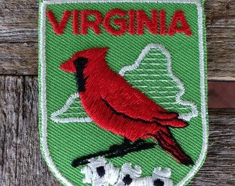 Virginia Vintage Souvenir Travel Patch from Baxter Lane