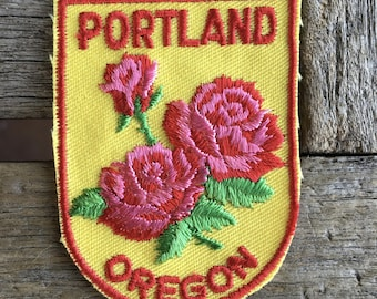 Portland, Oregon Vintage Souvenir Travel Patch from Voyager - ONLY ONE!