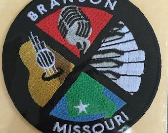 Branson Missouri Vintage Souvenir Travel Patch