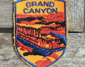 LAST ONE! Grand Canyon Vintage Souvenir Travel Patch from Voyager