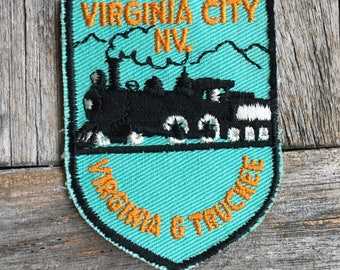 LAST ONE! Virginia City Nevada Vintage Souvenir Travel Patch from Voyager