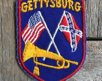 Gettysburg Vintage Souvenir Travel Patch from Voyager - New In Original Package