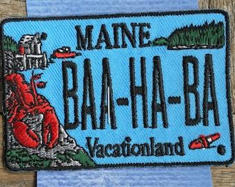 Maine Bar Harbor Souvenir Travel Patch