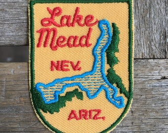 Lake Mead Nevada/Arizona Vintage Souvenir Travel Patch from Voyager