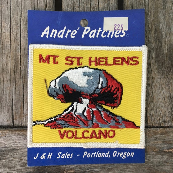 Collectible Patch Mount St Helens National Monument