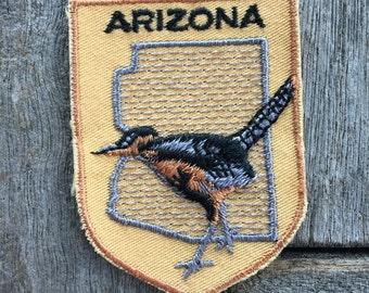 Arizona Vintage Souvenir Travel Patch from Voyager