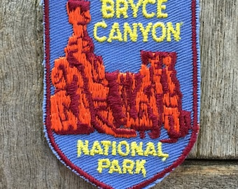 Bryce Canyon National Park Vintage Souvenir Travel Patch from Voyager