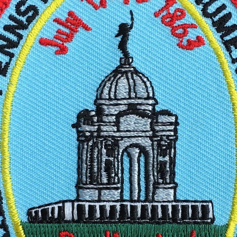 Pennsylvania Monument Gettysburg National Military Park Vintage Souvenir Travel Patch