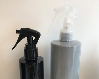 Spray Triggers - Available in White, Black and Clear - Fit all 250ml and 500ml bottles we stock!!