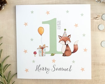 Personalised Childrens Birthday Card