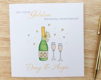 Personalised Gloss Champagne anniversaire Stickers Any Age Or occasion Blue