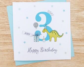Personalised Childrens Birthday Card
