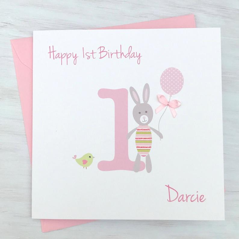 Personalised Girls Birthday Card Granddaughter