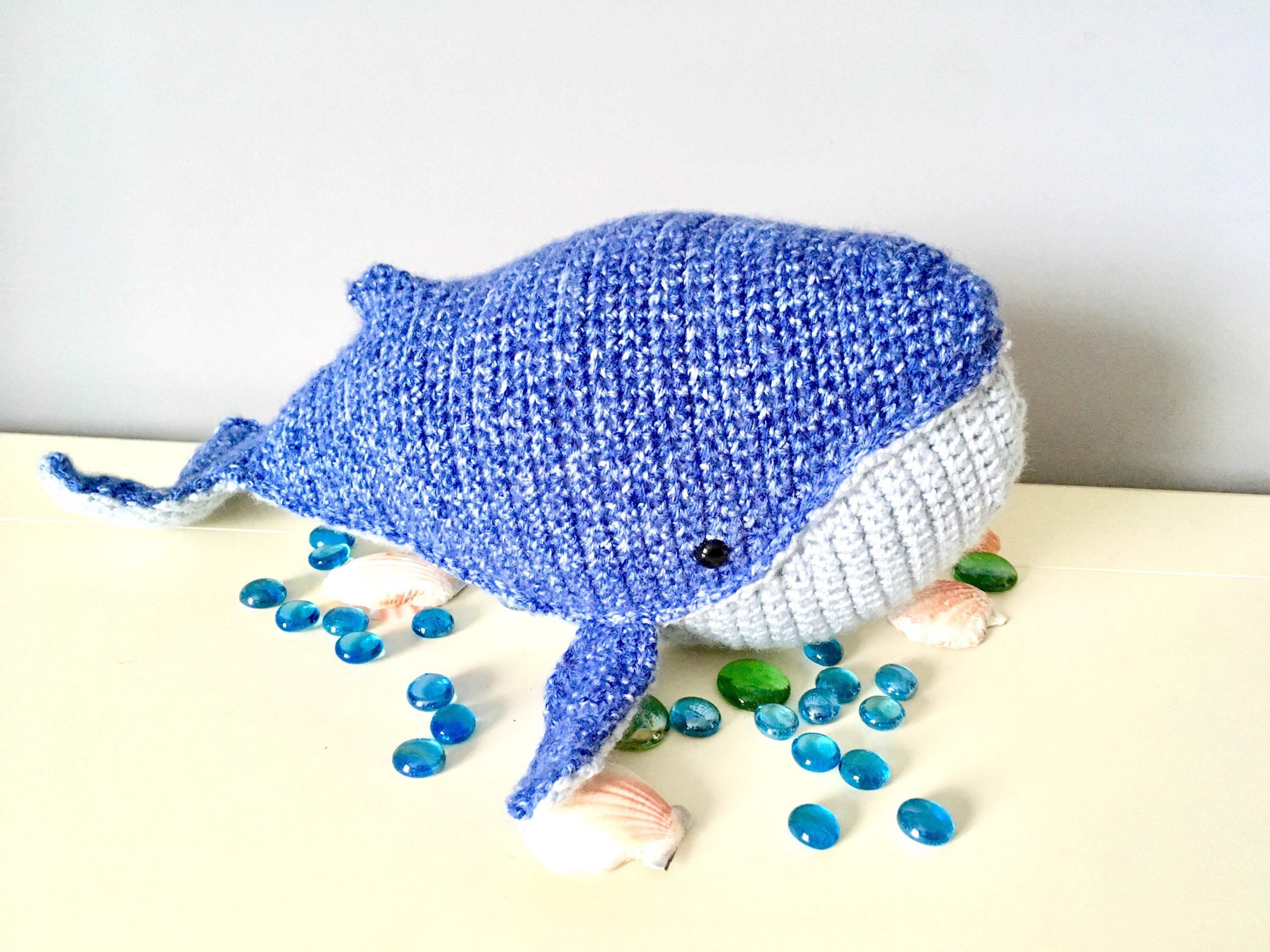 Blue Whale Free Crochet Pattern by Elisa's Crochet | 2250x3000