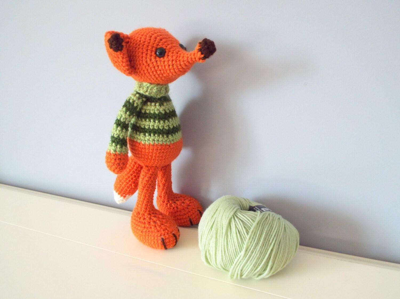 Heybabee Organic Cotton Yarn Crochet Fox Amigurumi Stuffed Toys Mft-036 -  Buy Crochet Toy Babi,Crochet Fox Toys,Fox Amigurumi Product on Alibaba.com | 1125x1500