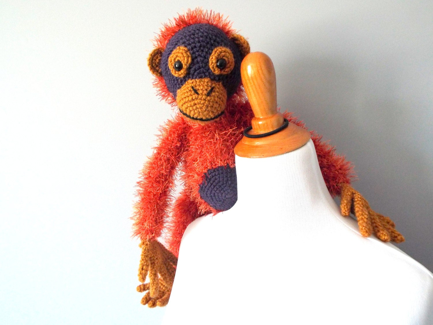 Amigurumi monkey girl | Crochet toys and patterns | lilleliis | 1125x1500