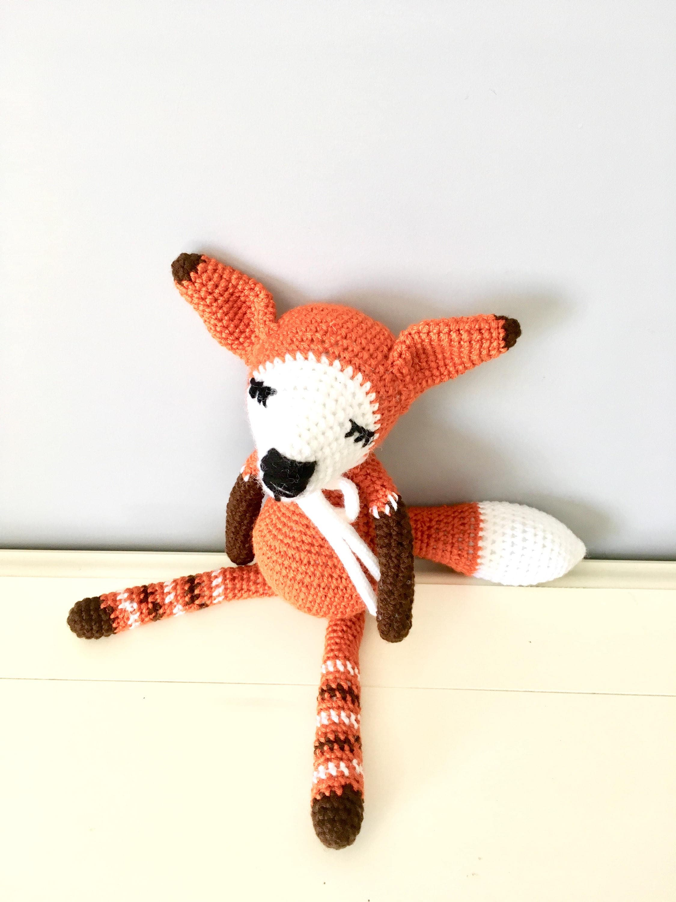 crochet fox amigurumi - YouTube | 3000x2250