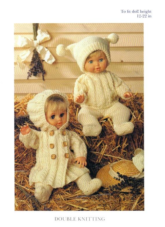 290a3e362856 boy girl doll clothes outfits dk knitting pattern 99p pdf