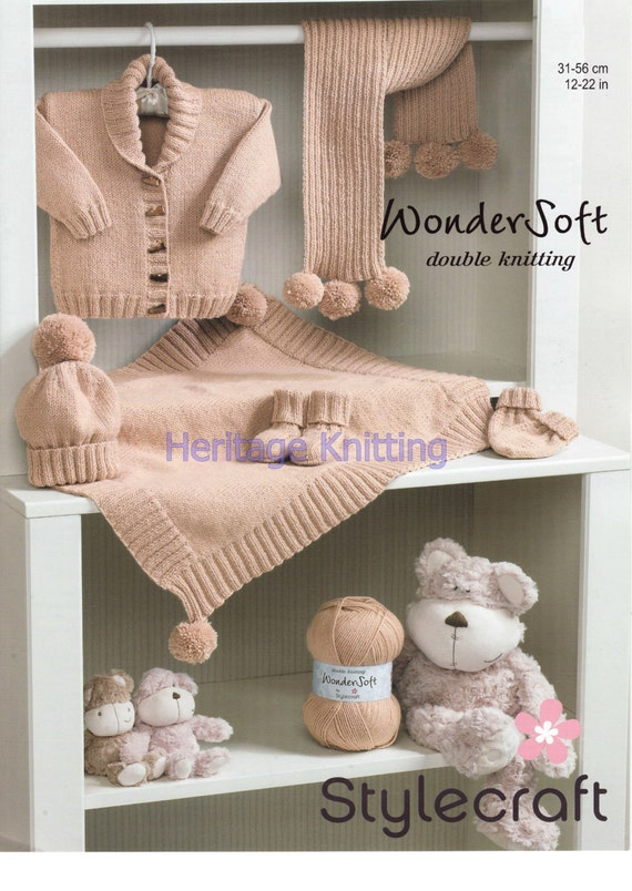b3c4bdcec82e baby set dk knitting pattern 99p