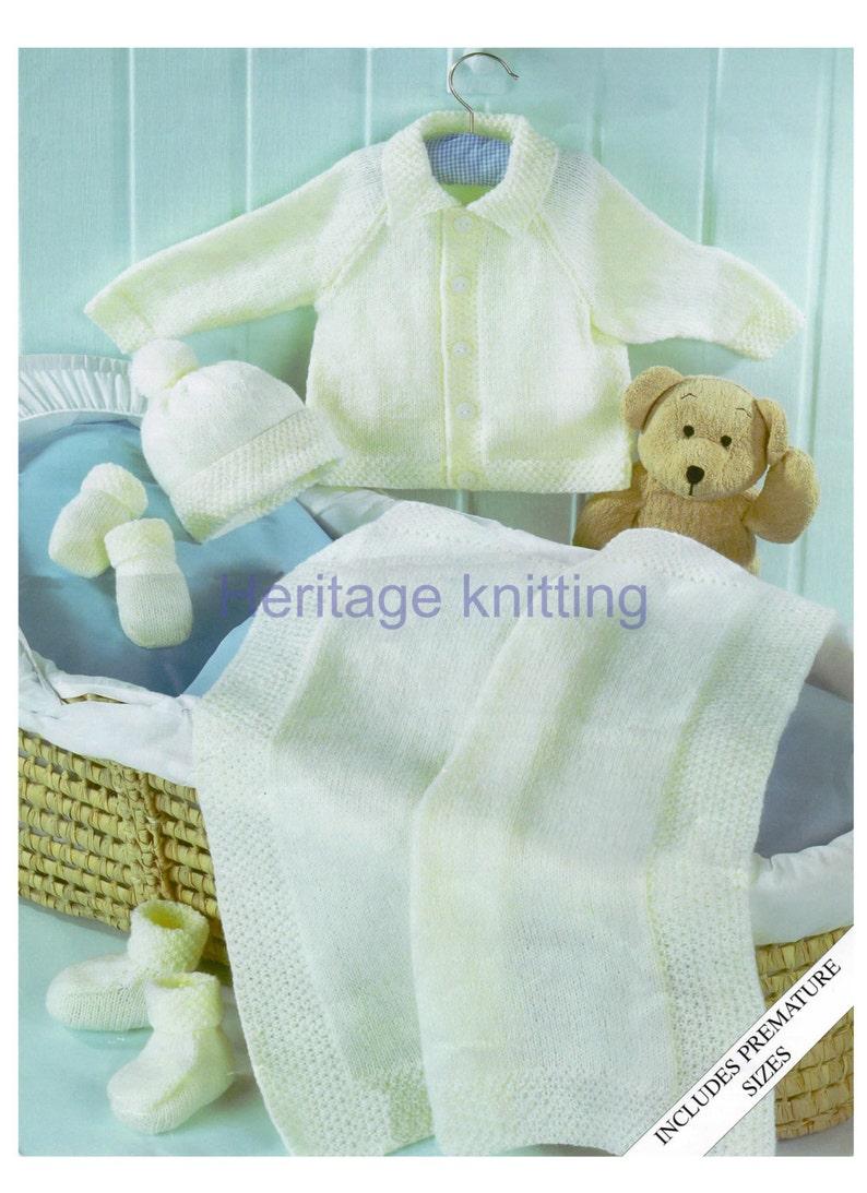 Baby blanket knitting pattern 99p