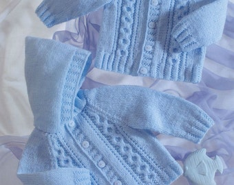 jackets dk knitting pattern 99p