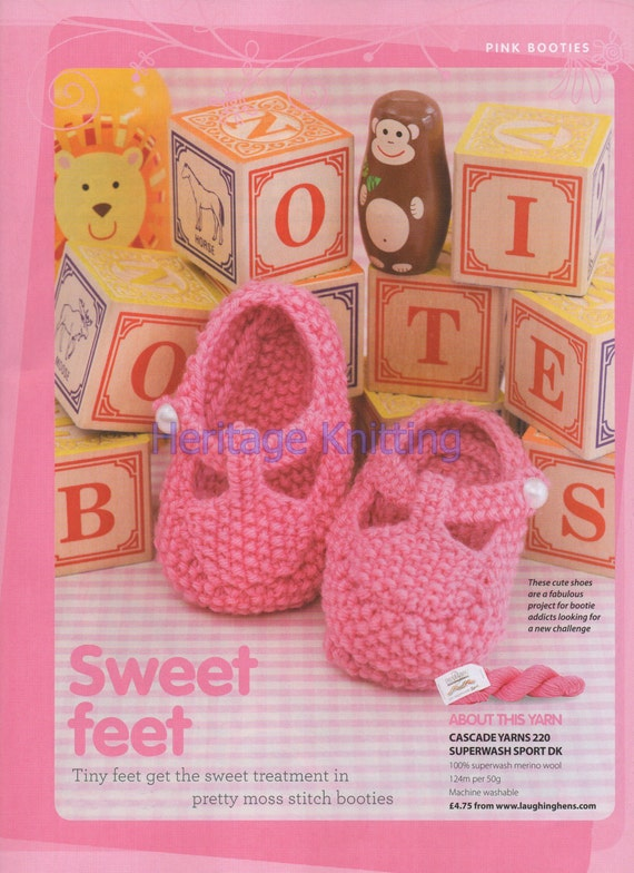 cb0d85ad02bf baby booties dk knitting pattern 99p