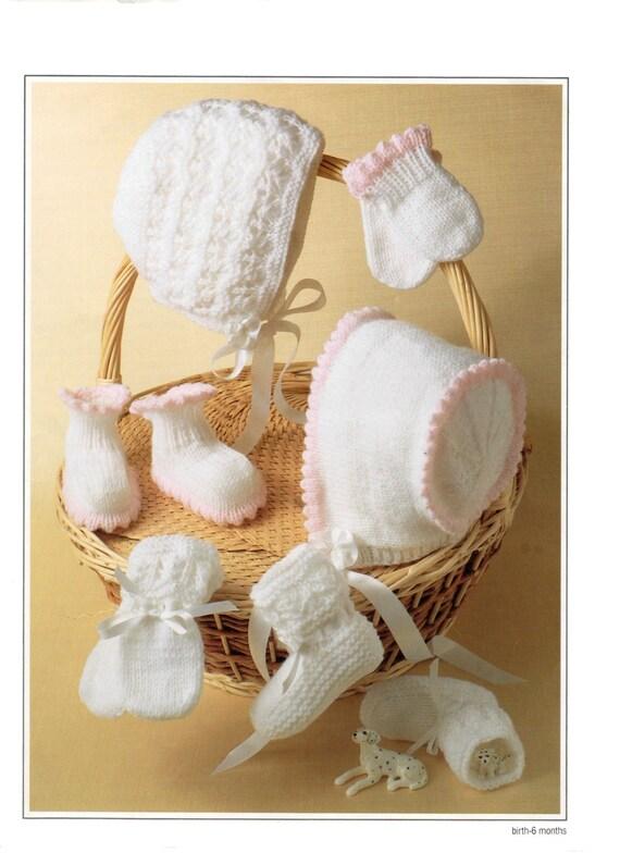 2303b8174a22 baby accessories dk knitting pattern 99p pdf