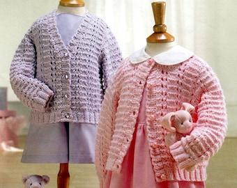 cardigans dk knitting pattern 99p pdf