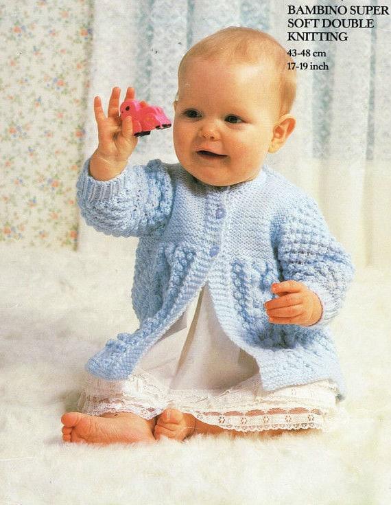 de25440d136e aran coat dk knitting pattern 99p pdf