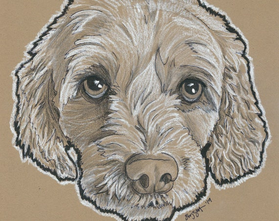 Custom Pet Portrait | Charcoal Pet Portrait | Pet Sketch | Pet Drawing | Dog Portrait | Cat Portrait