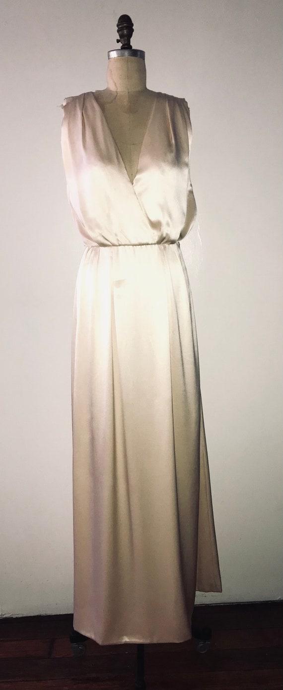 YVES SAINT LAURENT 1970 haute couture double  face