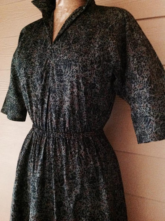 Halston 1970's vintage print (out of date) cinche… - image 3