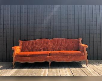 Velvet Sofa Etsy