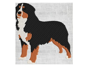 Pattern Bernese Dog Etsy