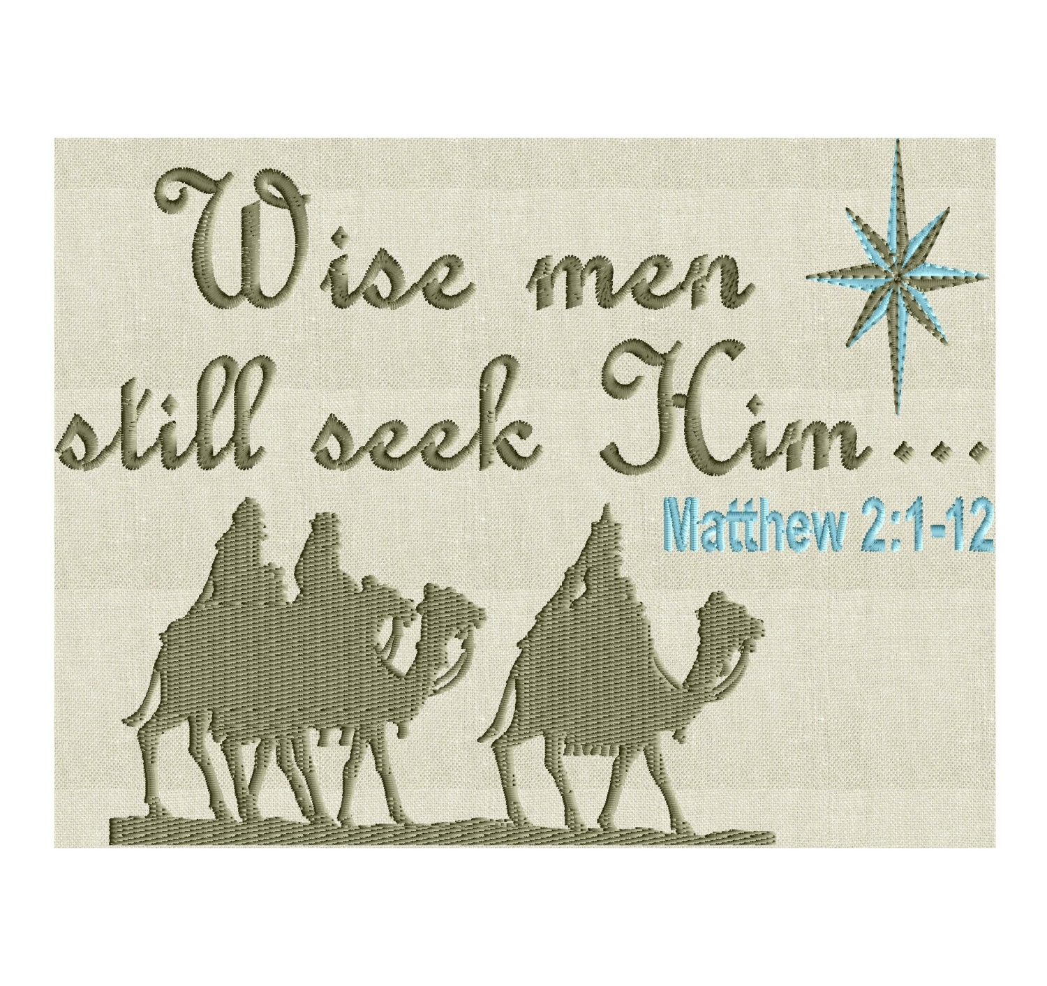 Christmas Quote Wise men still seek Him... | Etsy