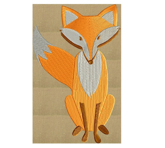 Fox /& Friends-embroidery file-embroidery