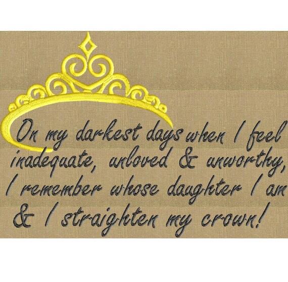 Mothers Day Quote On My Darkest Days I Straighten My Etsy