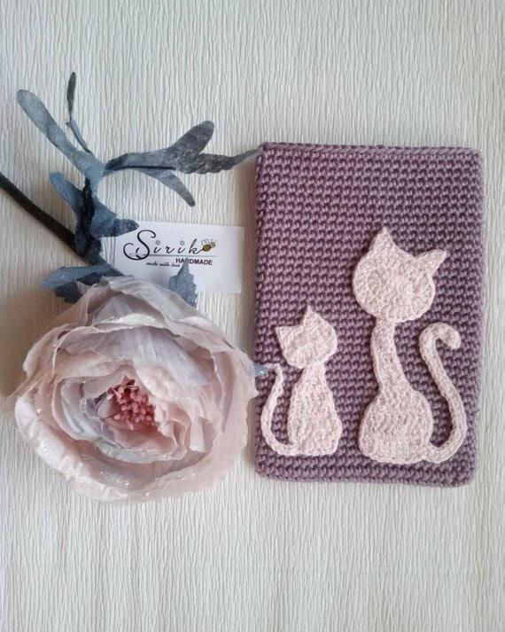 Crochet Cat Pattern Pdf Cat Applique Patterns Diy Craft Etsy