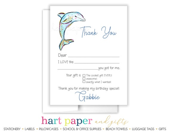 30 Dolphin Dolphins Personalized Address Labels