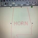 Alabama sign with HORN