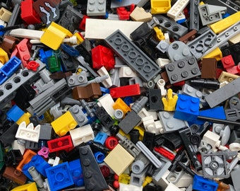 Bits and Pieces (smaller than average pieces), 1 pound pack - Genuine LEGO®