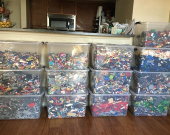 Clean 100% Genuine LEGO® by the pound