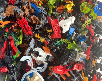 Clean 100% genuine Lego® Bionicle Hero Factory by the pound