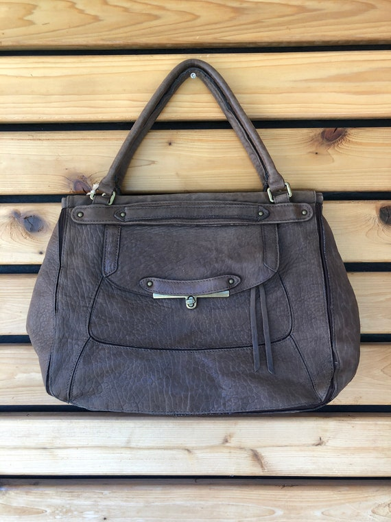 Abaco Brown Leather Tote