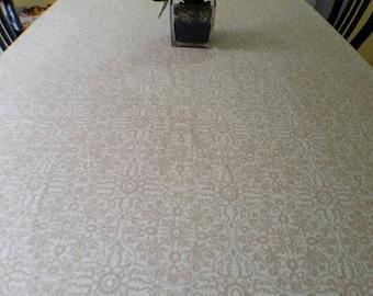 Linen Tablecloth, Tablecloth, Dining tablecloth, Natural linen tablecloth