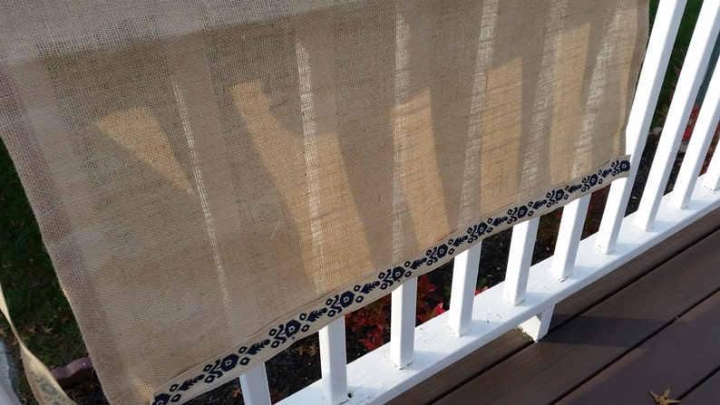 Kitchen curtains Curtains,Burlap cafe curtains Kitchen cafe curtains Holiday Gifts. Window Curtains Burlap Window Curtains