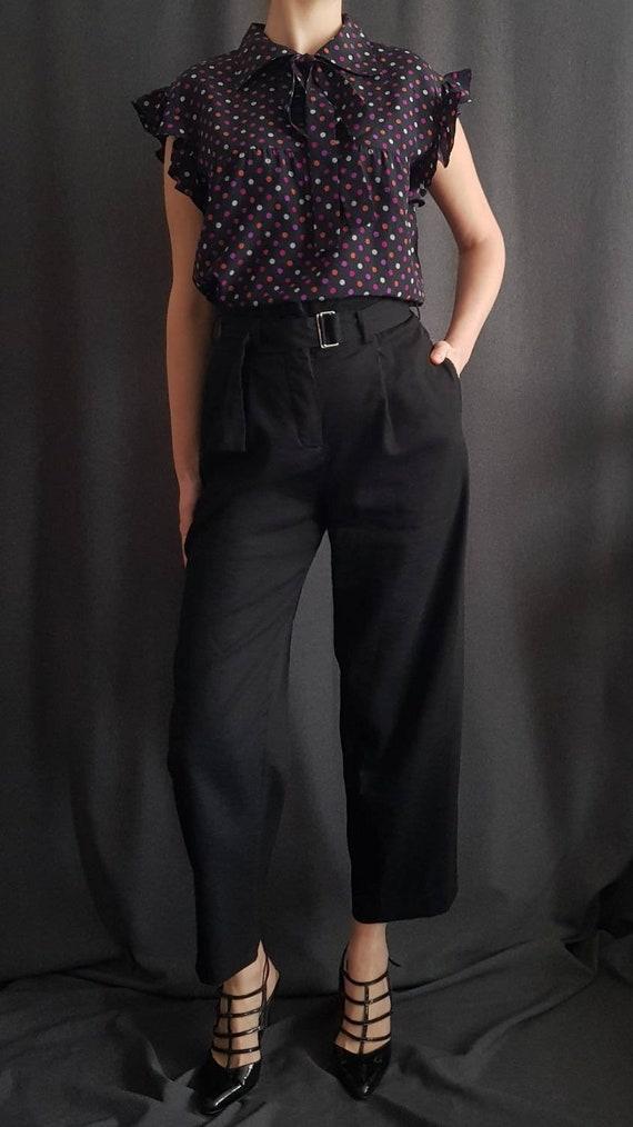 Vintage Yves Saint Laurent Rive Gauche blouse