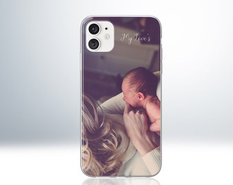 Personalised iPhone Photo Case for iPhone 6 6S 7 8 X XS XR XS Max 11 Pro. Customize with Your Photo or Image. Embossed Print. Matte Finish.