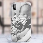 Personalised Photo Image Logo Phone Case. 3D Embossed Print. Matte Finish. For iPhone 6 / 6S / 7 / 8 / Plus / X / XS / Xs Max / XR.