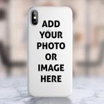Custom Personalised Photo iPhone Case. iPhone 6 / 6s case, 6 / 6s plus case, 7 / 8 case, 7 / 8 plus case, x / xs case, xr case, xs max case.